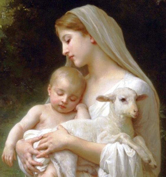 03. Innocence (1893) William-Adolphe Bouguereau detail.jpg